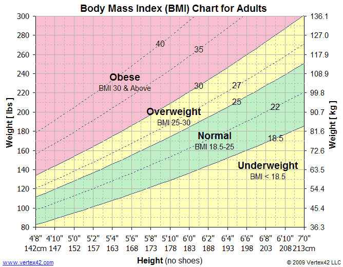 Image of Body Mass Index Chart